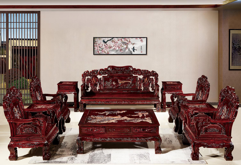 印尼黑酸枝 文宝沙发