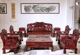 文宝沙发印尼黑酸枝